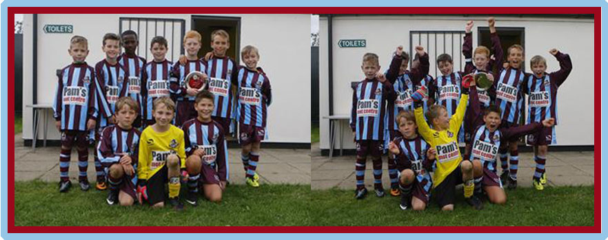 Great Horwood Pre-Season Tournament - U11 Plate Winners - WWFC WHIRLWINDS