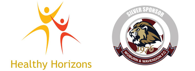 Healthy Horizons Ltd Proud Partner Sponsors of Woburn & Wavendon F.C