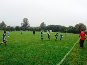 Lions U11 Whirlwinds Match Action