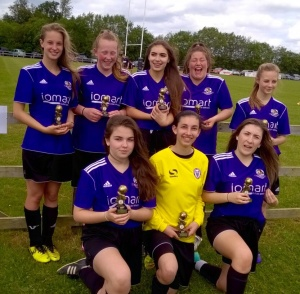 CHECK OUT ALICE's FACE ! KIDLINGTON 21st JUNE 2015 FINALISTS Lost on pens to Oxford City!