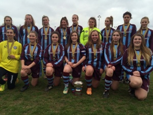 SENIOR GIRLS DEVELOPMENT CUP FINAL WINNERS! Lionesses V Kempston SUNDAY 19th APRIL 2015