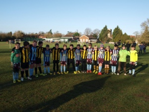 Friends in football....'Football Remembers December 1914'.