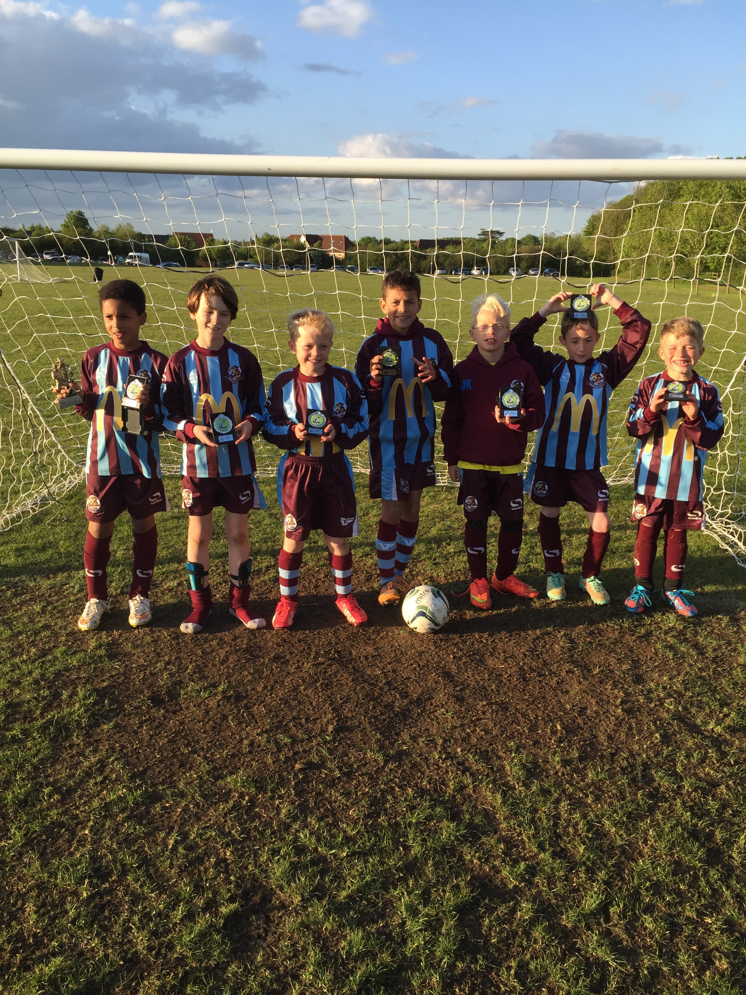 Whirlwinds U9's Presidents cup runners-up post thumbnail image