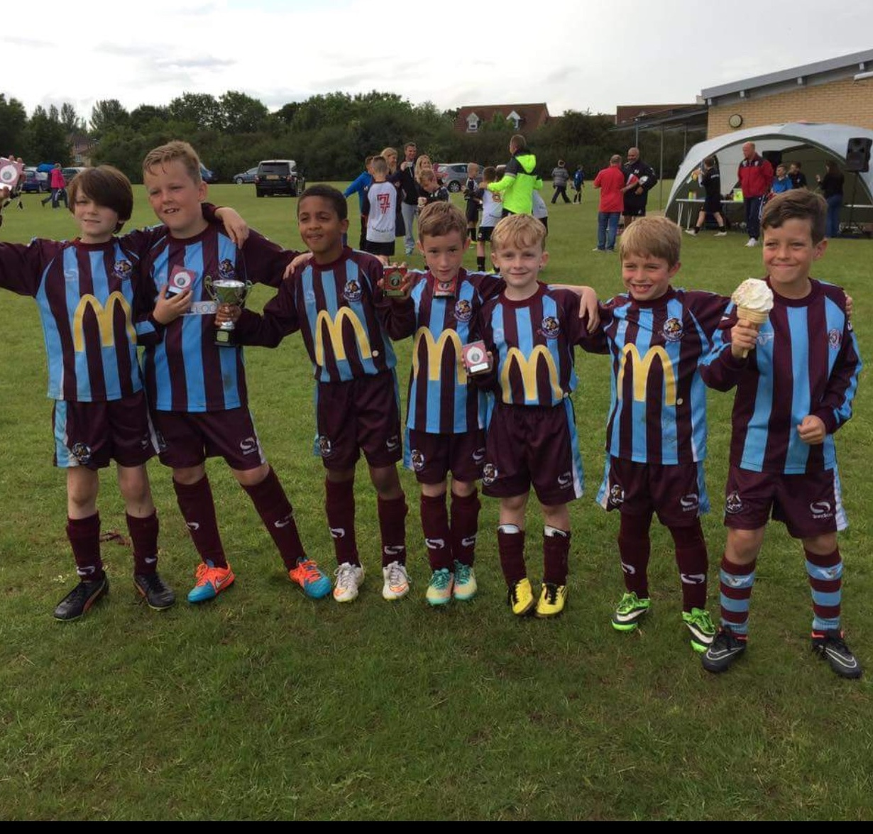 U9's Whirlwinds Tattenhoe's cup Runners-up post thumbnail image