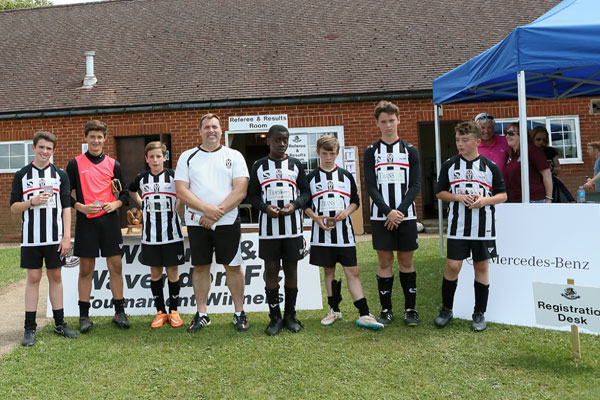 2015 WWFC Lions Supers Sixes U13Runners Up - Tattenhoe Youth Panthers