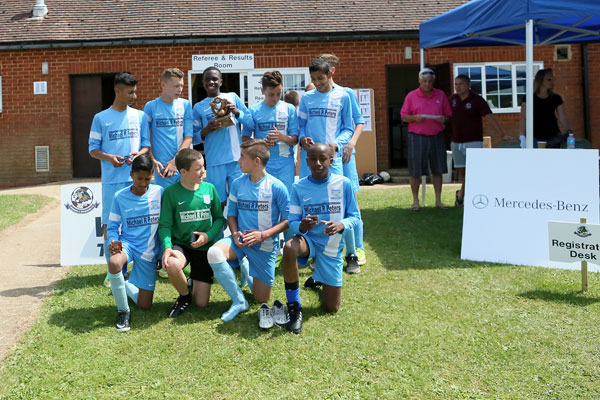2015 WWFC Lions Supers Sixes U13 Winners  - Bedford Town