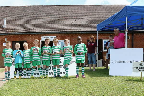 2015 WWFC Lions Supers Sixes U8 Runners Up - Newport Pagnell Town
