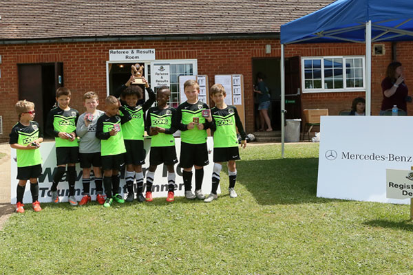 2015 WWFC Lions Supers Sixes U8 Winners - Santos Panthers