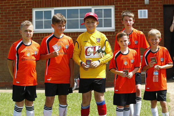 2015 WWFC Lions Supers Sixes U11Runners Up - EB Lions