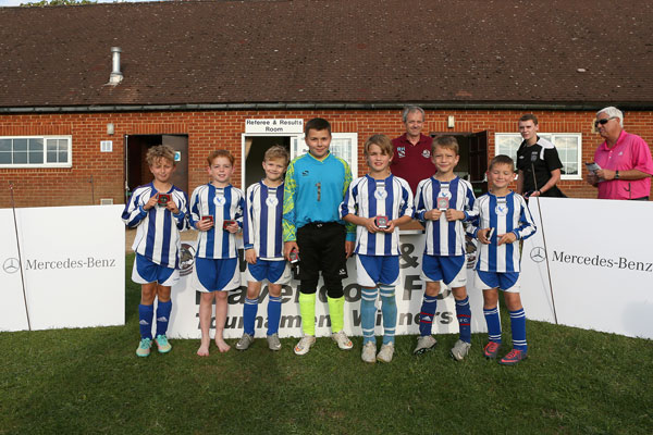 2015 WWFC Lions Supers Sixes 10 Runners Up - Dunstable Town