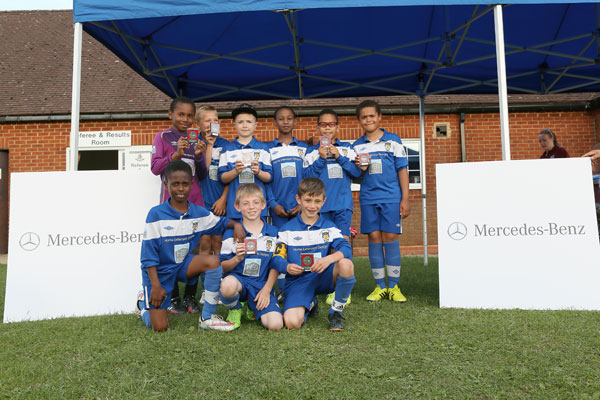 2015 WWFC Lions Supers Sixes U9 Runners Up - Dunstable Town