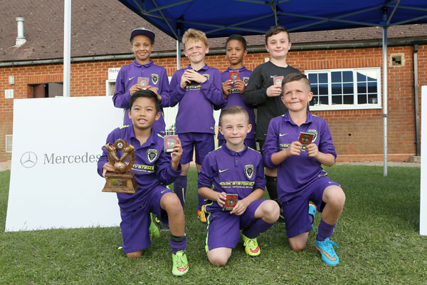 2015 WWFC Lions Supers Sixes U9 Winners - Santos Panthers