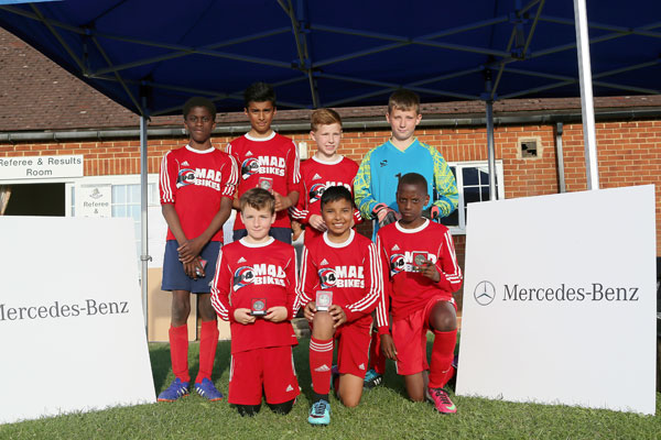 2015 WWFC Lions Supers Sixes U12 Runners Up - Roman Rangers Blue