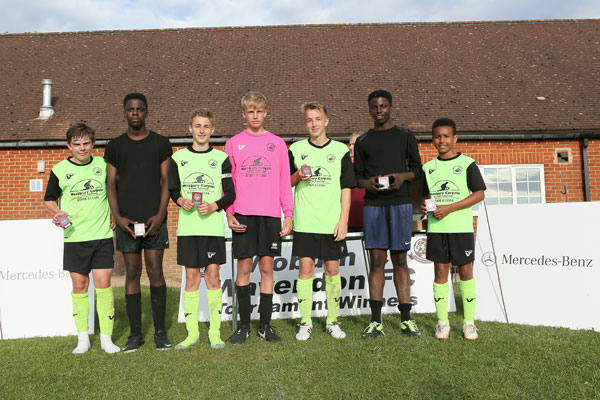 2015 WWFC Lions Supers Sixes U14 Runners Up - Newport Pagnell Town Green