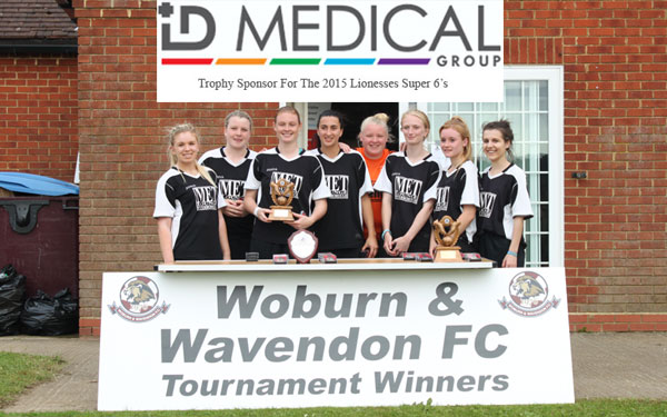 2015 WWFC Lionesses Supers Sixes Ladies Cup Winners – Santos Panthers