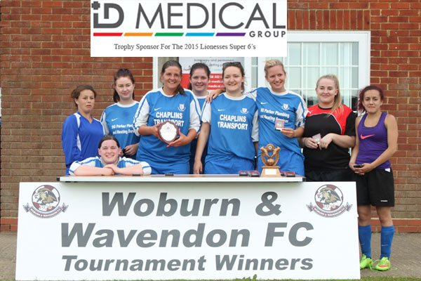 2015 WWFC Lionesses Super 6's Ladies Cup Runners Up - Roade F.C.
