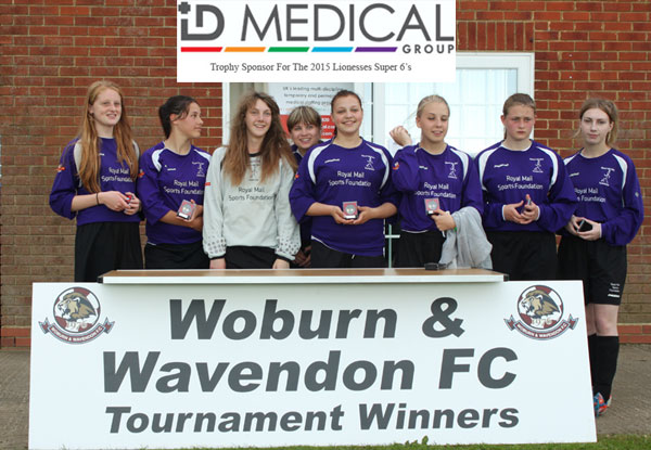2015 WWFC Lionesses Super 6's U16 Runners Up - Wisbech St Mary Purple