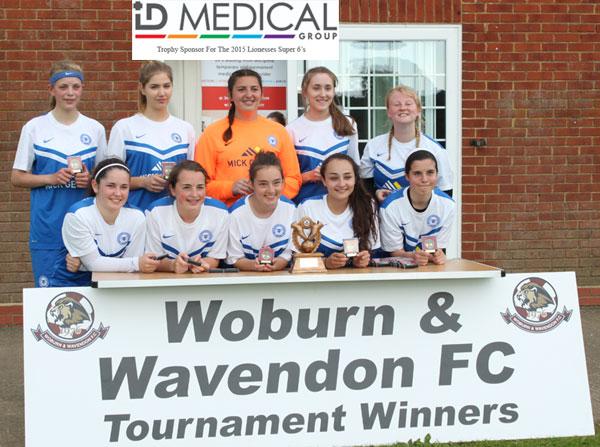 2015 WWFC Lionesses Super 6's U16 Winners  - Peterborough United