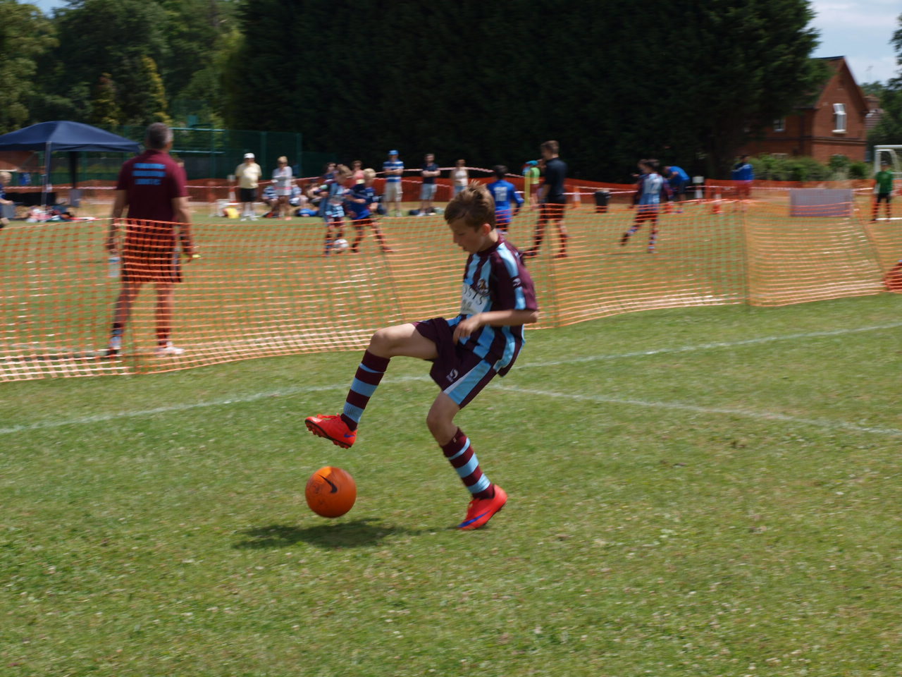 exercice opposition foot u11