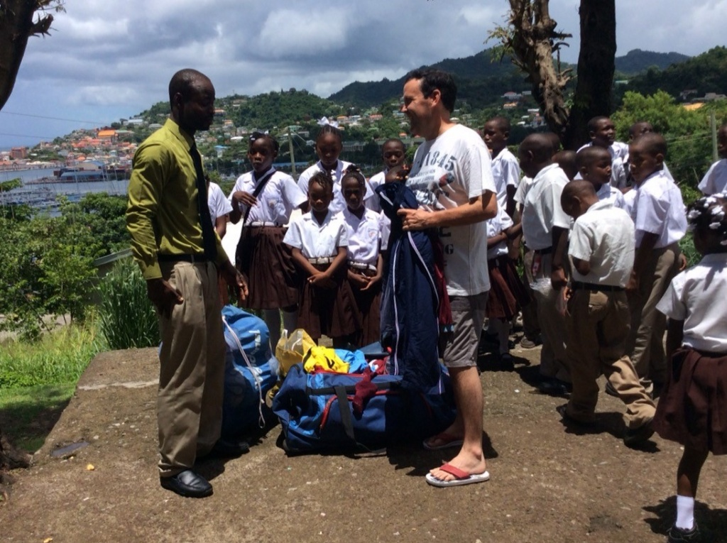 Grenada Equipment & Kit Hand Over