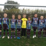 The cup winners before the game