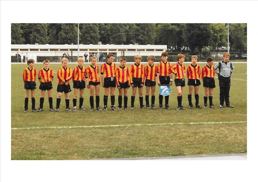 The first Woburn Lions shirts.... as re-used in 1987/8 by Paul Mowat's team.