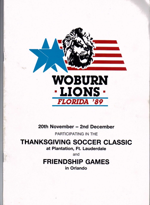 Woburn Lions Florida 1
