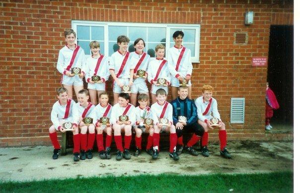 Woburn Lions U13 champions 1991
