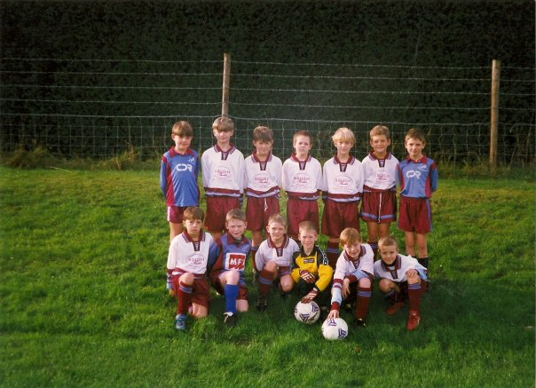 Under 9's, Crawley Road in 1998.