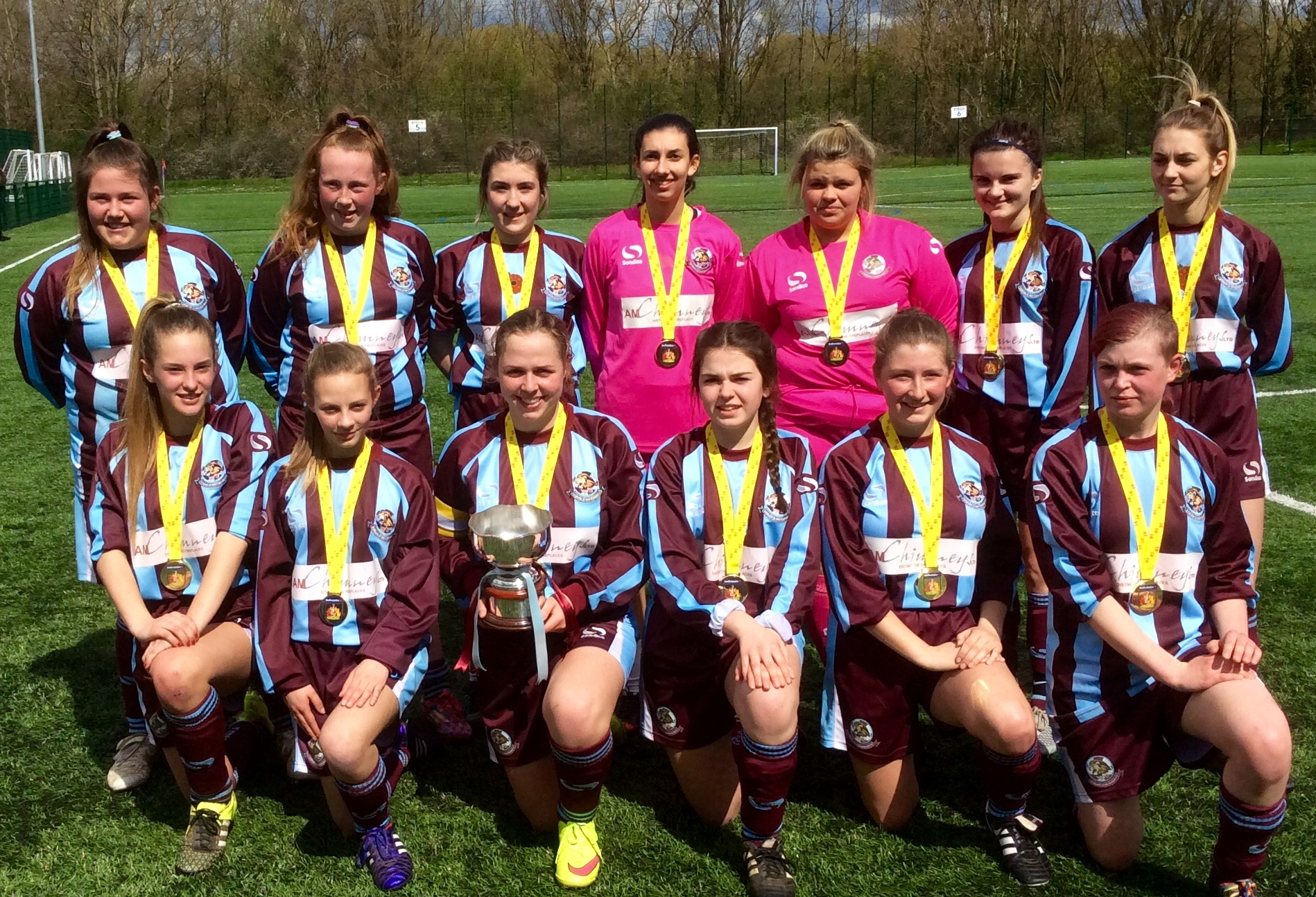U18 LIONESSES COUNTY CUP CHAMPS…. AGAIN ! post thumbnail image