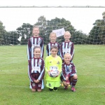 Meet The U9 Lionesses. Bella, Lucy, Laura, Summer, Emily and Chloe