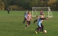 Izzy on the attack