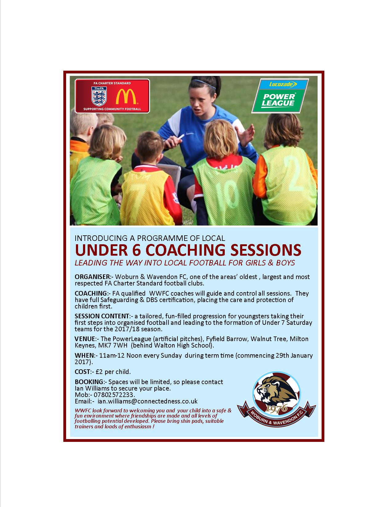 Under 6 Coaching sessions post thumbnail image