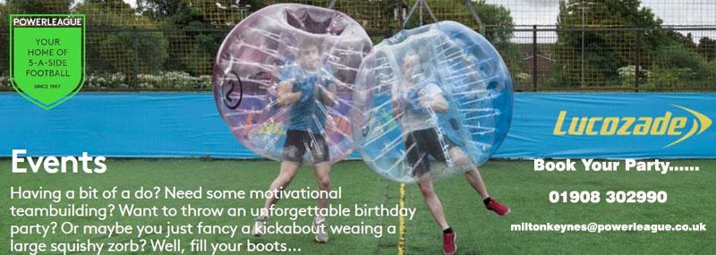 Powerleague – Milton Keynes – Book Your Themed Football Or Bubble Party post thumbnail image