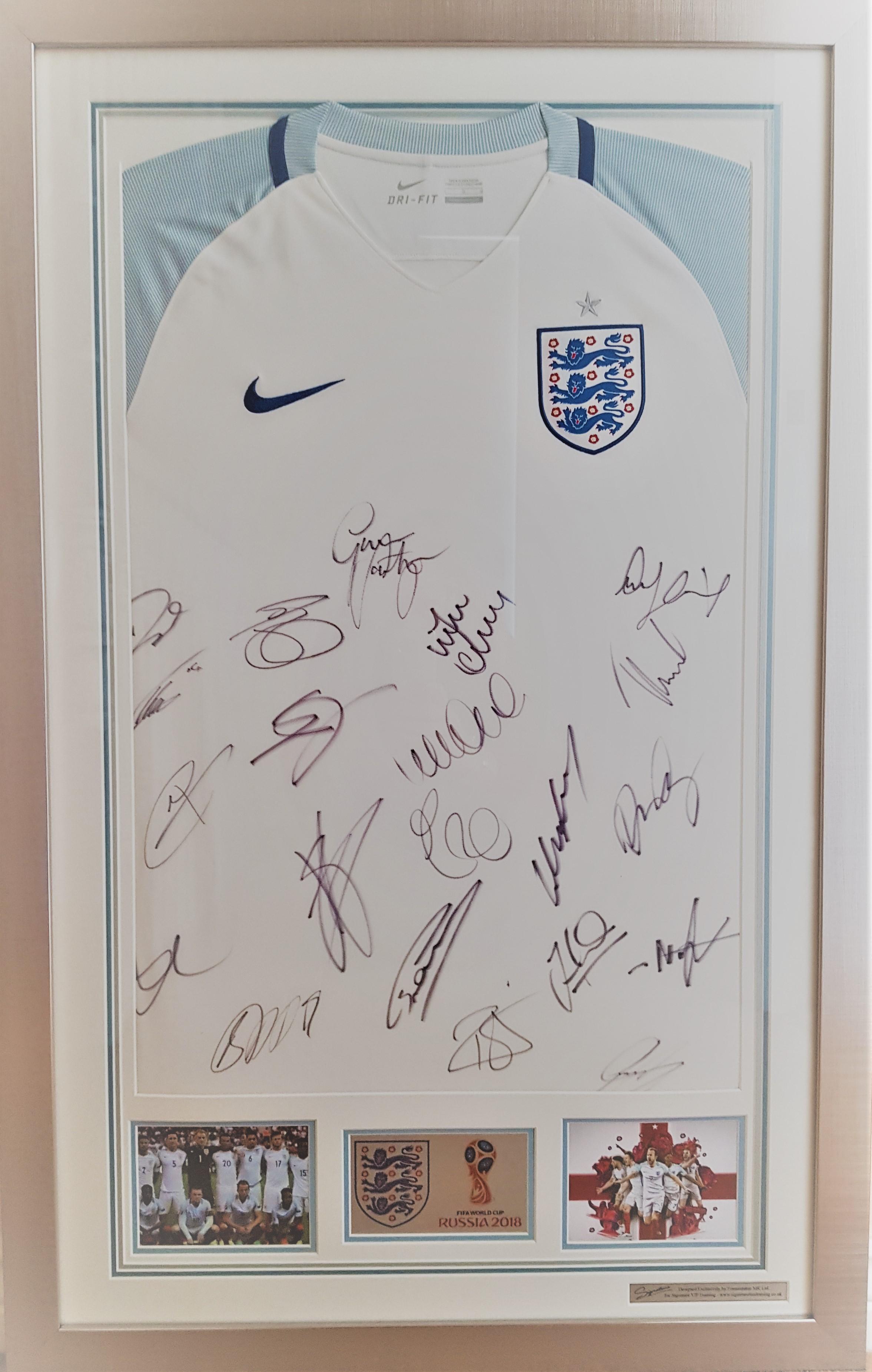 Win A Signed Framed England Shirt! post thumbnail image