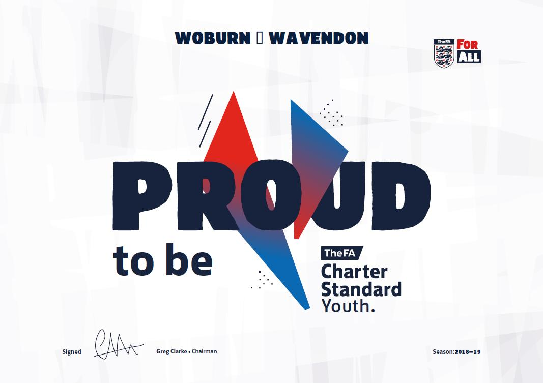 Recognised by the FA for our Standards! post thumbnail image