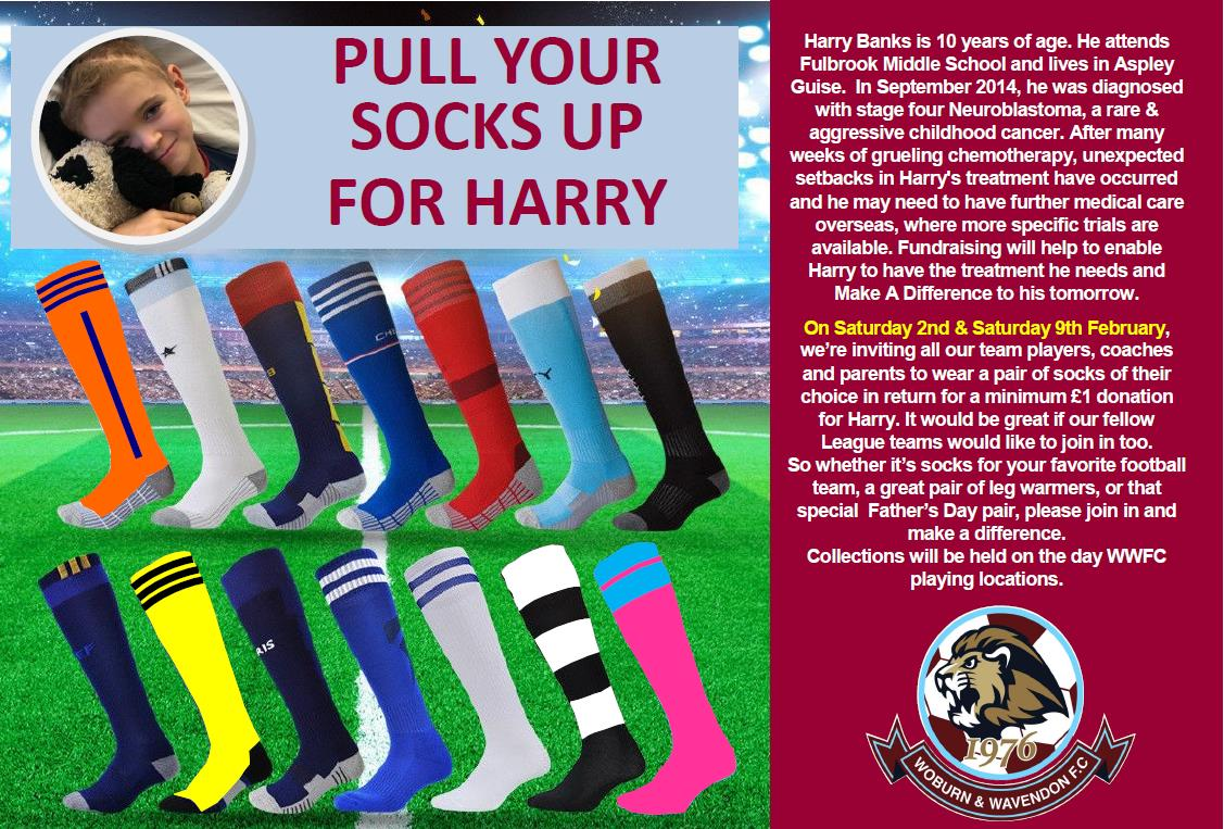 We're pulling our socks up to support Harry! post thumbnail image