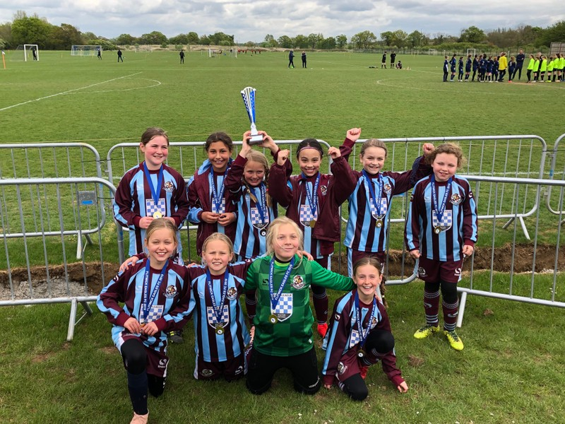 U10 LIONESSES CLARETS GET SUMMER TOURNIES OFF TO GREAT START post thumbnail image