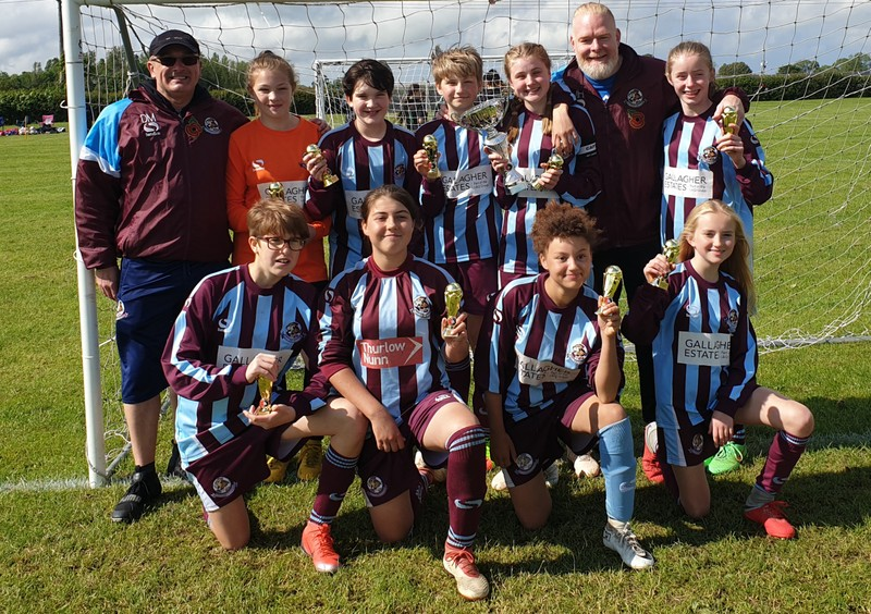 Woburn U13 Lionesses come out top at the Moretonville 6-aside Tournament post thumbnail image