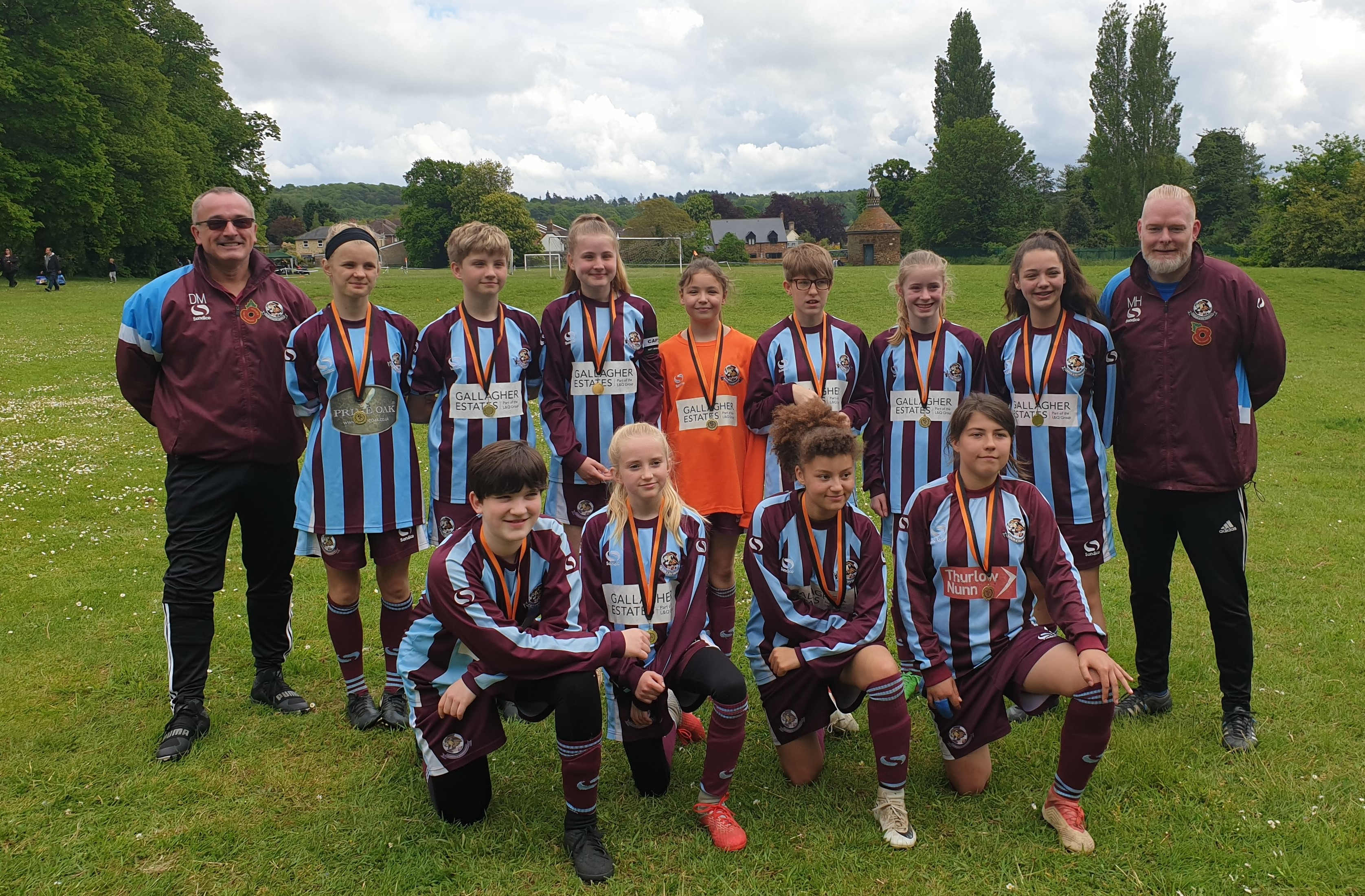 U13 Lionesses make it to the final of the Mid Bed Tigers May 2019 tournament. post thumbnail image