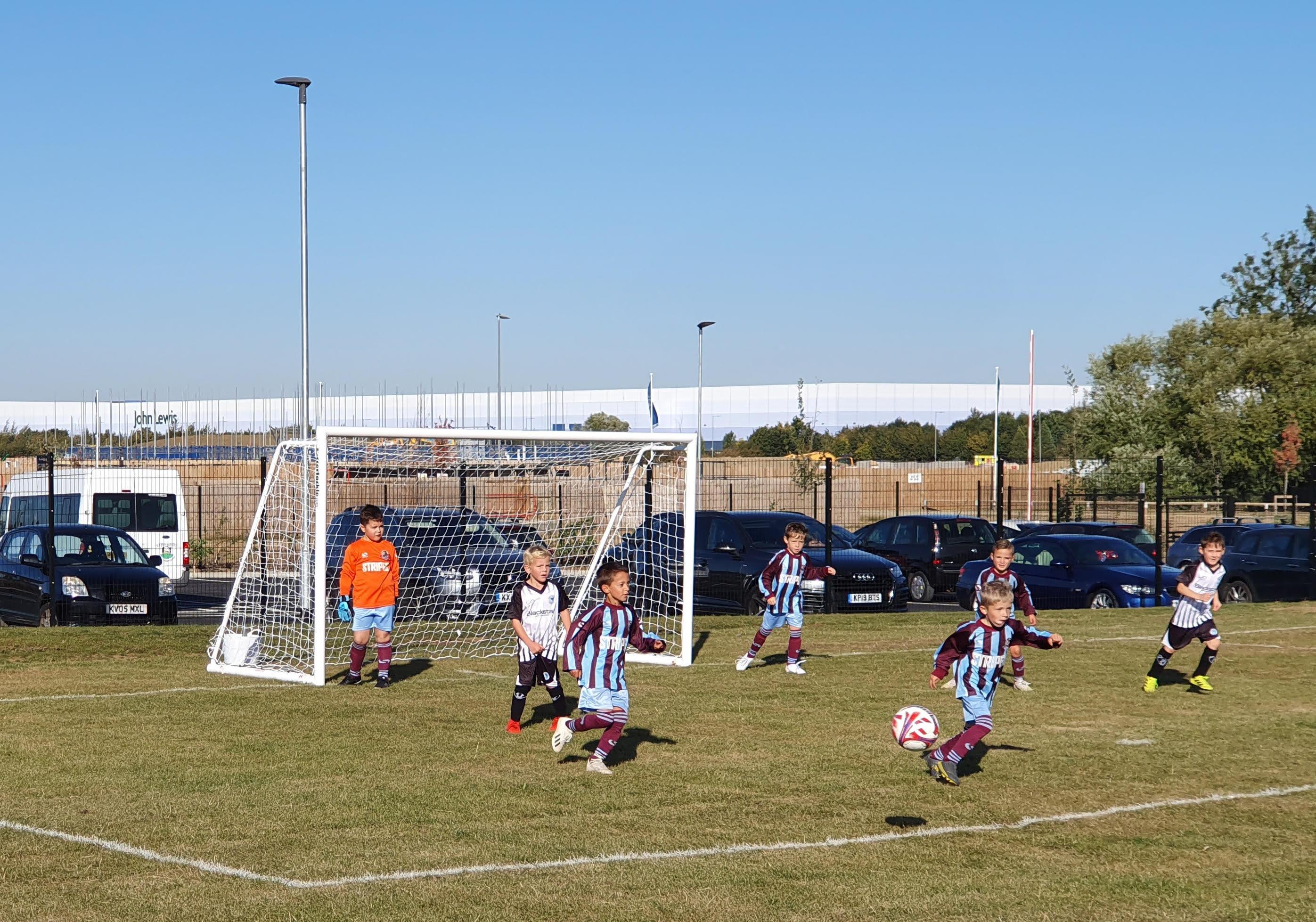 The Under 7 Whirlwinds were the first WWFC team to KO at our newest site! post thumbnail image