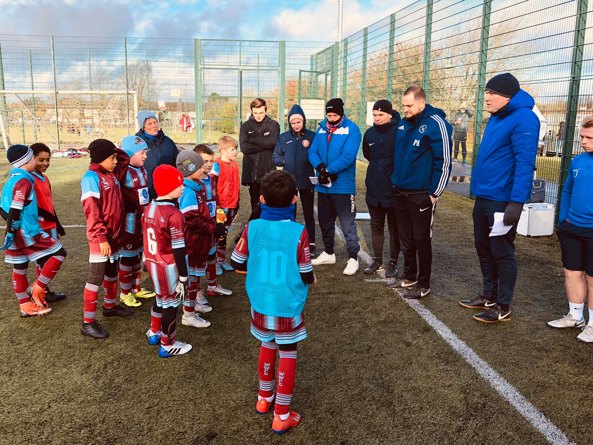 Our U9 Tornadoes Helping Beds FA post thumbnail image