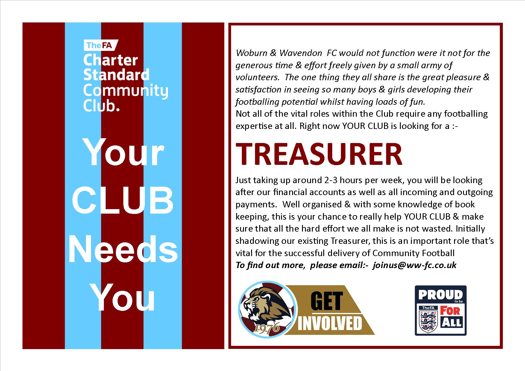 Your Club Needs You… post thumbnail image