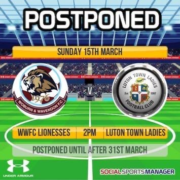 Lioness Ladies County Cup Final Postponed. post thumbnail image